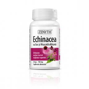 Echinacea cu soc, 30 capsule, Zenyth