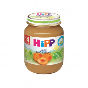 Piure caise, ECO, 4+ luni, 125g, HIPP