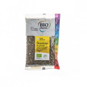 Seminte de canepa nedecorticate 75g , BIO All Green