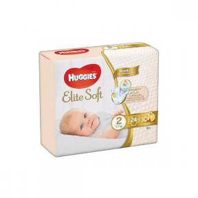 Elite Soft (2), 24buc, (4-7Kg), HUGGIES