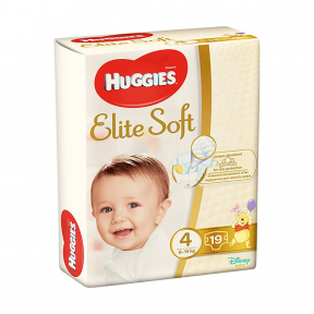 Elite Soft (4),19buc, (8-14Kg), HUGGIES