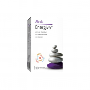Energiva, 30 comprimate, Alevia