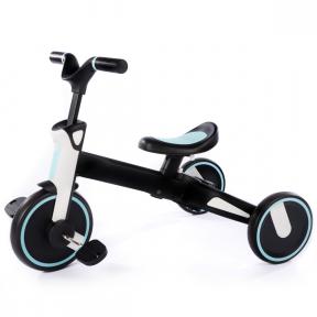 Tricicleta Uonibaby 3 in1, Pliabila - Blue