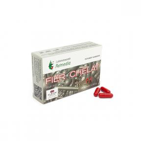 Fier Chelat, 20 capsule, Laboratoarele Remedia