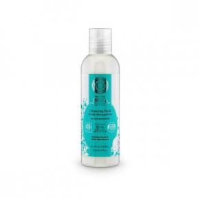 Fluid demachiant, pentru ten uscat sau sensibil, cu rhodiola, 200 ml, Natura Siberica