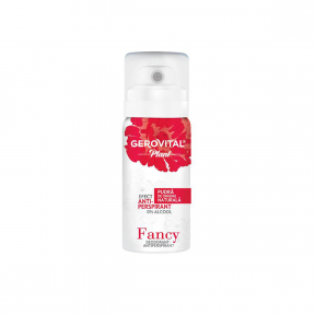 Deodorant-antiperspirant, Fancy, 40ml, Gerovital Plant