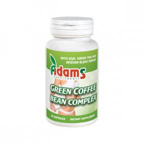 Green Coffee Bean Extract, 30 capsule,  Adams Vision