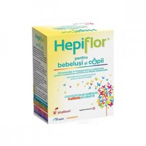 Hepiflor copii 2g, 10 plicuri, Terapia