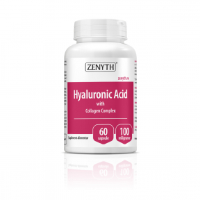 Hyaluronic Acid with Collagen Complex, 60 capsule, Zenyth