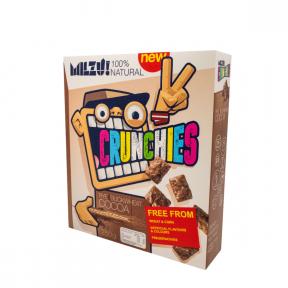Cereale cu secara crunchies cu cacao, 250g, Milzu!