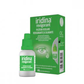 Picaturi oculare revigorante, 10ml, Iridina