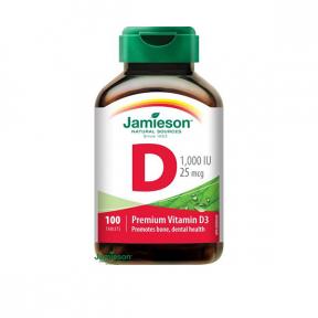 Jamieson Vitamina D3, 1000 ui,100 tablete