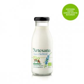 Kefir vaca ecologic, 250g, Artesana