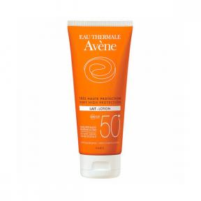 Lapte protectie solara adulti SPF 50+, 100ml, Avene
