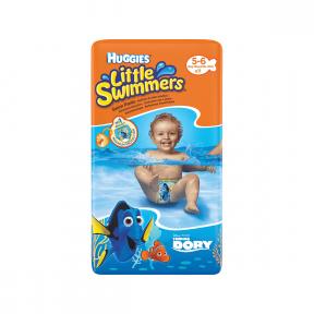 Little swimmers scutece chilotel impermeabile 5-6, 11 bucati, (12-18 Kg), HUGGIES