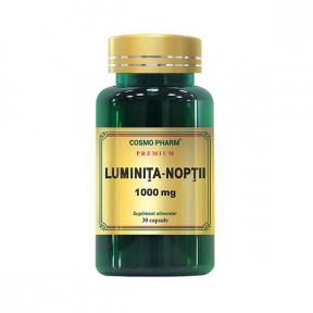 Luminita noptii, 1000mg premium, 30 capsule, COSMO PHARM