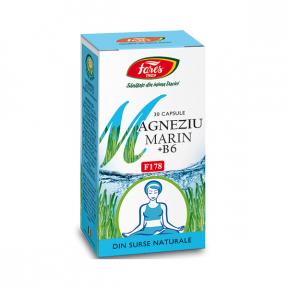 Magneziu si Vitamina B6, 30 capsule, Fares