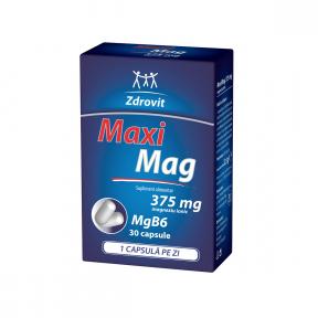 Maximag, 375mg, 30 capsule, Zdrovit