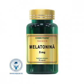 Melatonina premium, 30 capsule, COSMO PHARM