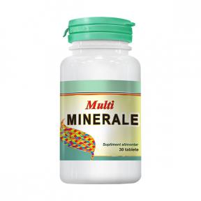Multiminerale, 30 tablete, COSMO PHARM