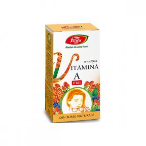 Vitamina A naturala, 30 capsule, Fares