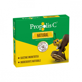 Propolis C, 20 comprimate de supt, Fiterman Pharma