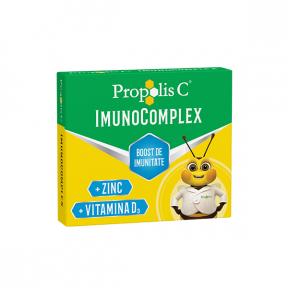 Propolis C Imunocomplex, 20 comprimate de supt, Fiterman Pharma