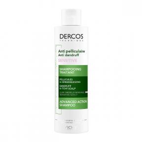 Sampon anti-matreata pentru scalp sensibil, Vichy Dercos, 200 ml, Vichy