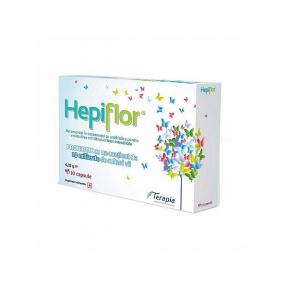 Hepiflor, 10 comprimate, Terapia
