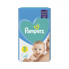 Pampers 2 Active baby 4-8kg, 68buc