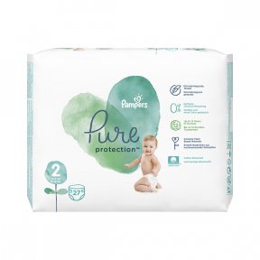Pampers 2 Pure 4-8kg, 27buc