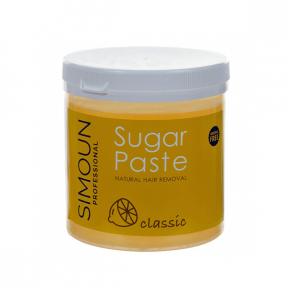 Ceara naturala de zahar pentru epilare gel, 1 kg,  Simoun