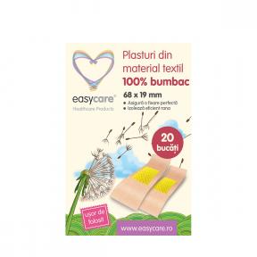 Plasturi din material textil, 68x19mm, 20buc, Easycare