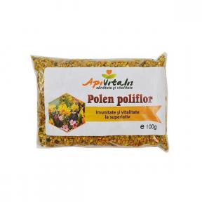 Polen poliflor uscat, 100g, Api Vitalis
