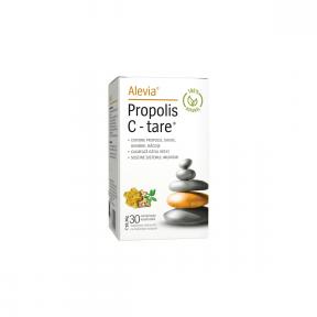 Propolis C-tare 100% natural, 30 capsule, Alevia
