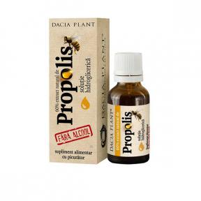 Propolis fara alcool cu picurator, 20ml, Dacia Plant