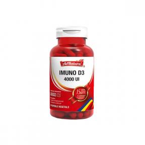 Supliment alimentar Imuno D3, 4000 UI, 30cps, AdNatura