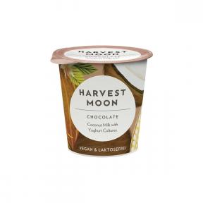 Preparat fermentat BIO din bautura cocos cu ciocolata, 125g, Harvest Moon