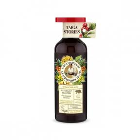 Sampon pentru intarirea radacinilor cu ulei din seminte de mustar, 500ml, Taiga Stories