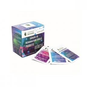 Saruri rehidratare orala cu probiotic + diosmectita, 24 plicuri, Laboratoarele Remedia