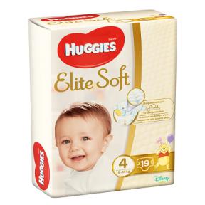 Scutece Elite Soft Convi Nr. 4, 8-14 kg, 19 bucati, Huggies