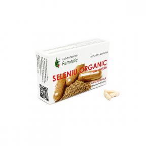 Seleniu Organic, 30 capsule, Laboratoarele Remedia