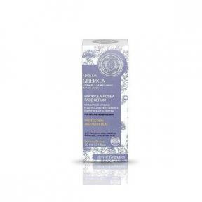 Serum cu Rhodiola Rosea, protectie si nutritie pentru ten uscat, sensibil, 30 ml, Natural Siberica