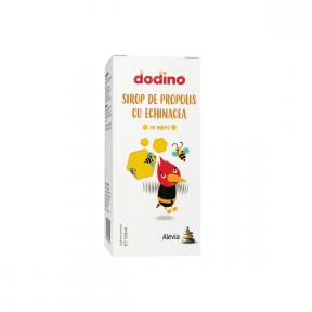 Sirop de propolis cu echinacea, Dodino, 150ml, Alevia