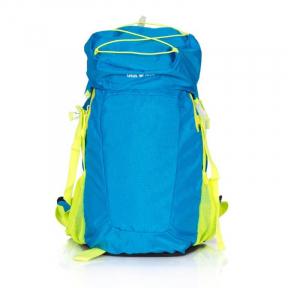 Rucsac munte Alpin, 50x31x22 cm, 45 l, albastru / galben, Lamonza