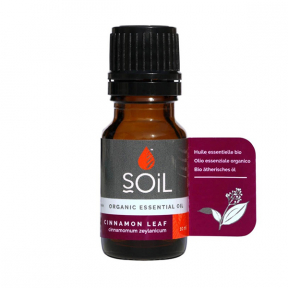 Ulei esential Cinnamon - Scortisoara, 100% Organic, ECOCERT, 10ml, SOiL