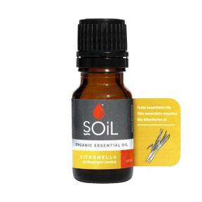Ulei Esential Citronella 100% Organic, ECOCERT, 10ml, SOiL