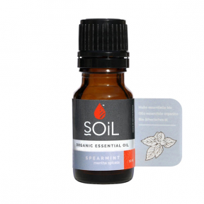 SOiL Ulei Esential Spearmint - Menta Creata 100% Organic ECOCERT 10ml