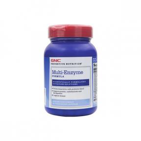Multi-Enzyme Formula, 90 capsule, GNC