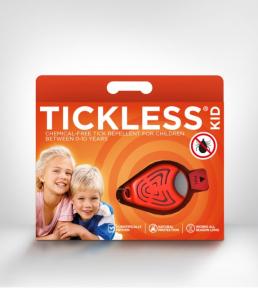 Repelent ultrasonic anticapuse pentru copii - culoare: orange, TICKLESS Anti capuse